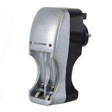 Lloytron B1501 Compacto 2/4 Cargador De Batería Para Aa/aaa Nimh Ni-CD Indicador LED