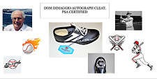 VINTAGE. VERY RARE. 1 DOM DIMAGGIO AUTOGRAPHED CLEAT. PSA CERTIFIED. USA SELLER.