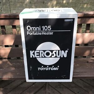 Kerosun Omni 105 Portable Kerosene Heater BRAND NEW Open Box Kero Sun