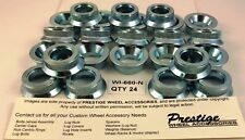 WHEEL LUG HOLE INSERTS FOR ALUMINUM WHEELS 24 PIECES PART # WI660-N