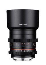 Samyang 35mm T1.3 COME UMC CS VCSC video cine lente Fuji X Mount-EX-DEMO