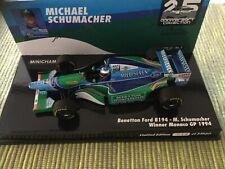 Benetton Ford B194 M. Schumacher 1:43 Minichamps Monaco GP 1994