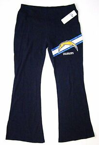 NFL San Diego Chargers Women's Franchise Navy Blue Lounge Yoga Pants