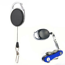 Outdoor EDC Telescopic Spring Type Keyring Key Chain Key Ring Tool Kit  for Keys