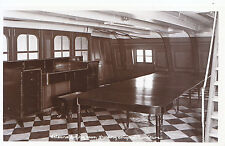 H.M.S. Victory Postcard - Nelson's Dining Room - Shows Original Furniture  XX711