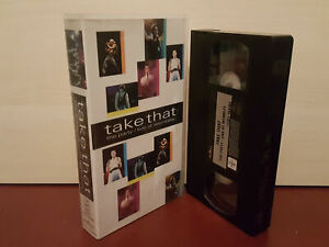 Take That - The Party / Live At Wembley - PAL VHS Video Tape (H180)