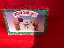 Hallmark Merry Miniatures Snowbear Season 1-626