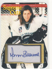 "MANON RHEAUME SUPREME CUTS DIE CUT FACSIMILE Auto EMBOSSED  ""SAMPLE"" LIGHTING  C"