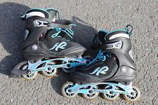 Inliner Rollschuhe Firma k2 Schuhgröße 40,5 oder US 9,5 blau Gebraucht