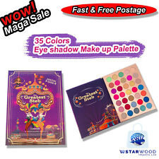 Lemtosh 35 Colors Eye shadow Make up Palette Glitter  Shimmer Cosmetic Book Gift