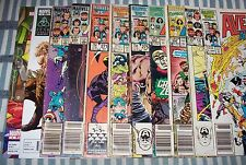 Big Lot of 11 AVENGERS comics from #254 to 335 with Annuals from 1985 up Readers