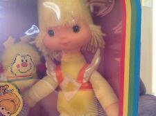 Nrfb Vintage Mattel Rainbow Brite Canary Yellow Doll & Spark Sprite