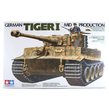 Tamiya German Tiger I Mid Production Model Set (Scale 1:35) Tank Model 35194 NEW
