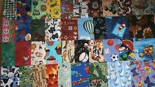 "36 5"" NOVELTY/I SPY Quilt Fabric Squares"