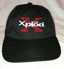 XPLOD HAT Sony Stereo Subwoofer BASEBALL CAP Black Red White Adjustable