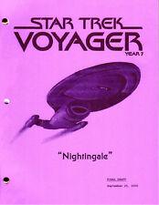 Star Trek Script - Voyager - Nightingale