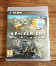 AIR CONFLICTS SECRET WARS Jeu Sur Sony PS3 Playstation 3 Neuf Sous Blister VF