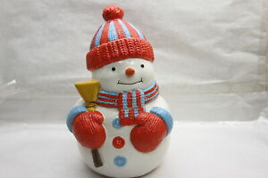 HomeWorx by Harry Slatkin Choice of Holiday Filled Figurals SNOWMAN RTL$43