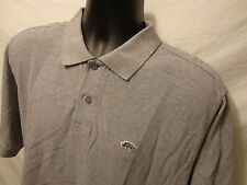 Mens Ecko 100% Cotton Polo Sz L Short Sleeve Gray