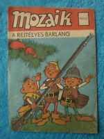 MOZAIK Mosaik Abrafaxe Nr.1 1976 1976/2 EXPORT UNGARN Fehldruck Fehlschnitt RAR