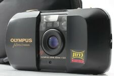 [EXCELLENT+++++ w/Case] Olympus mju 35mm f/3.5 Panorama Point & Shoot From JAPAN
