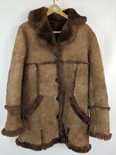 New listing Vintage Brown Shearling Coat
