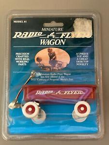 NEW Miniature RADIO FLYER WAGON Model #1 Mini 1933 World's Fair Model