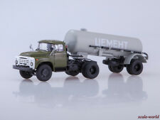 Scale model 1/43 ZIL-130В1 with trailer TC-4