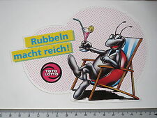 Adesivo Sticker TOTO-LOTTO-strofinare potere Reich (m1372)