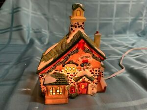 Holiday Time Village Collectibles Redwood Bakery