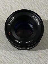Contax Zeiss 50mm 1.7 MMJ