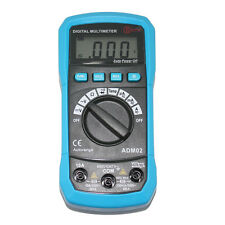 AideTek auto rmultimeter tester DMM ohm AC DC buzz C F backlight vs FLUKE ADM02