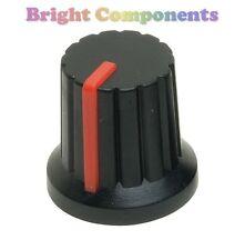 Potenciómetro Perilla (Rojo Puntero) - Push Apto Para 6 Mm Eje - 1st Class Post