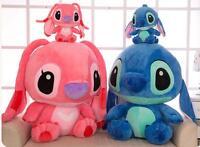 Giant Big Disney Blue Lilo Stitch Stuffed Animal Plush Doll Kawaii Christmas Toy