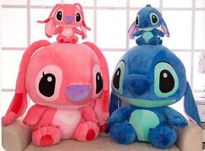 2019 New Giant Cute Disney Blue Lilo Stitch Stuffed Animal Plush Toy Doll Gift K