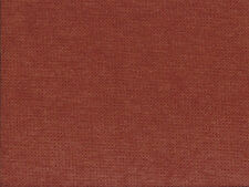 Designer Upholstery Fabric Heavy Wt. Felt Backed Plush Chenille Solid-Terracotta