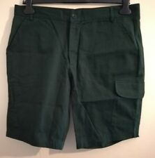 "Stock & Co Pantalones cortos estilo cargo de Australia Hunter Green Size UK 34""W"