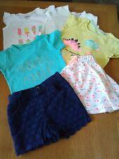 Girls/Toddler Spring/Summer Mixed Bundle 6 Items Clothing 18-24 Months