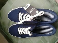 navy trainers,canvas shoes plimsolls,pumps womens size 5/38 Asda George RRP £10