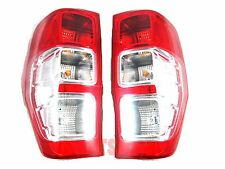 PAIR LH+RH TAIL LIGHT LAMPS FOR FORD RANGER T6 2DR 4DR XLT PX GENUINE OEM 12-15