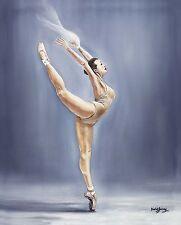 "SUPERB DAVID GARVEY ORIGINAL ""Ballet Expressions"" Dance CANVAS OIL PAINTING"