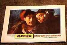 ATTILA THE HUN 1958 LOBBY CARD #8 ANTHONY QUINN