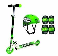 2 Wheel Kick Scooter. For Kids 5-14 Years with Helmet and 4 Pods Set!
