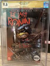 The Last Ronin 1 NYCC Variant CGC 9.6 Signed Kevin Eastman