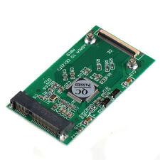 "1.8"" Mini mSATA PCI-E SSD 40Pin ZIF CE Cable Adapter Converter Card ASS"