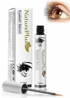 NaturePlus Eyelash Growth Serum Natural Brow Lash Enhancer Herbal Formula 5ml