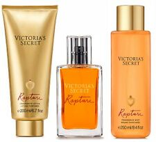 Victoria's Secret Rapture Cologne/Eau De Perfume/Mist & Lotion New 3 Pcs.