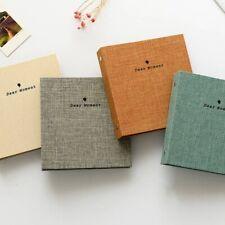 Photo Album/ Instax Mini Album/ 100 photo holders/ Removeable Pages Gray Good