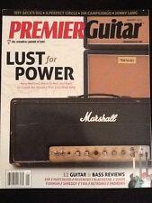 """Premier Guitar Magazine """"Lust for Power"""" January 2014"""
