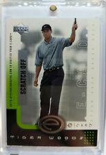 Rare: 2001 UPPER DECK DIGITAL ECARD Tiger Woods RC ROOKIE #E-TW, Unscratched